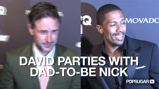 Video of David Arquette at a Party With Nick Canon in New York