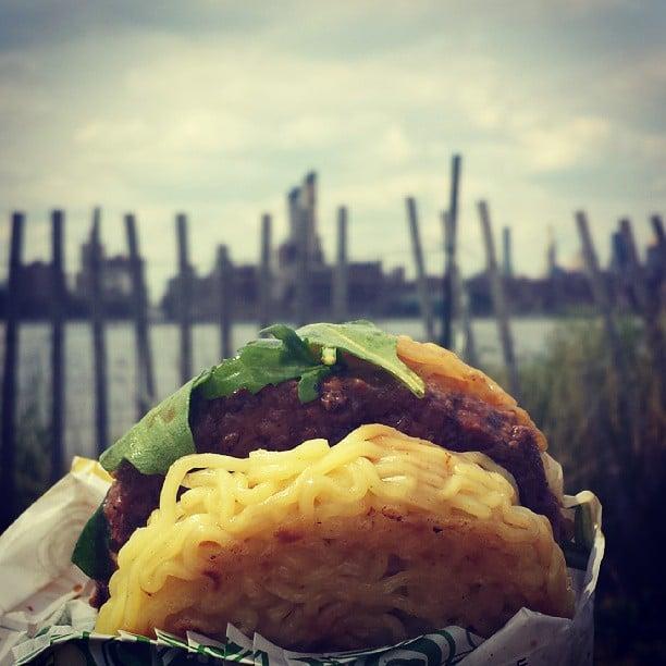 The Next Cronut Is the Ramen Burger