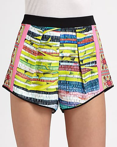 In Clover Canyon's Surf Shack shorts ($198), you'll undoubtedly get yourself noticed. We absolutely love the mix of colors and the high cut, which make them extraversatile for nighttime.
