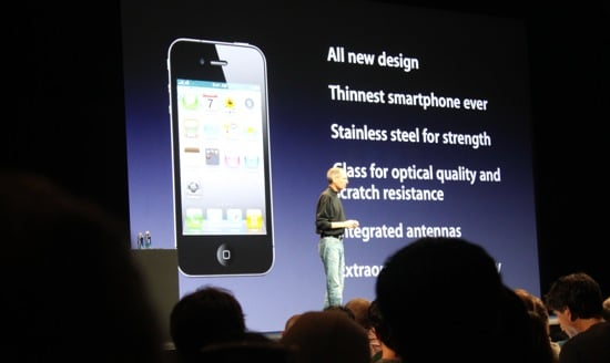 iPhone 4 Liveblog and Details From WWDC