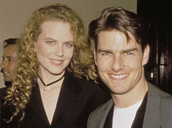 June 1993: With Tom Cruise in Sydney