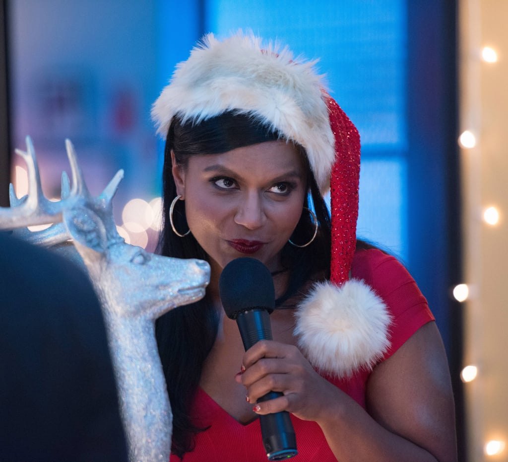 The Mindy Project Mindy rocks a sexy Santa look.