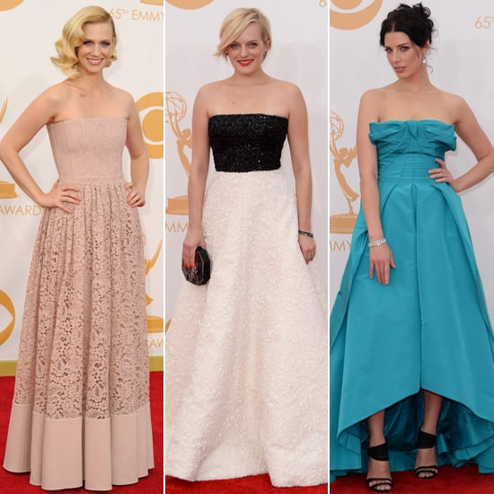 The Cast of Mad Men Ditches Their Retro Duds For the Emmys