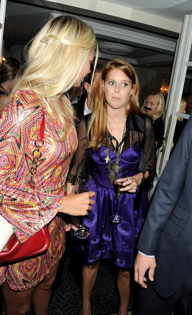Holly Branson chats with Princess Beatrice.