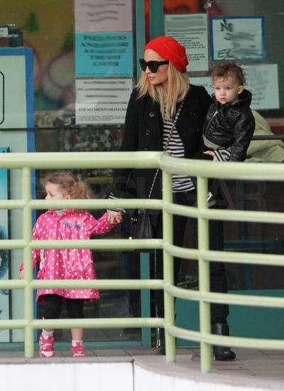 Pictures of Nicole Richie in LA With Kids Harlow and Sparrow