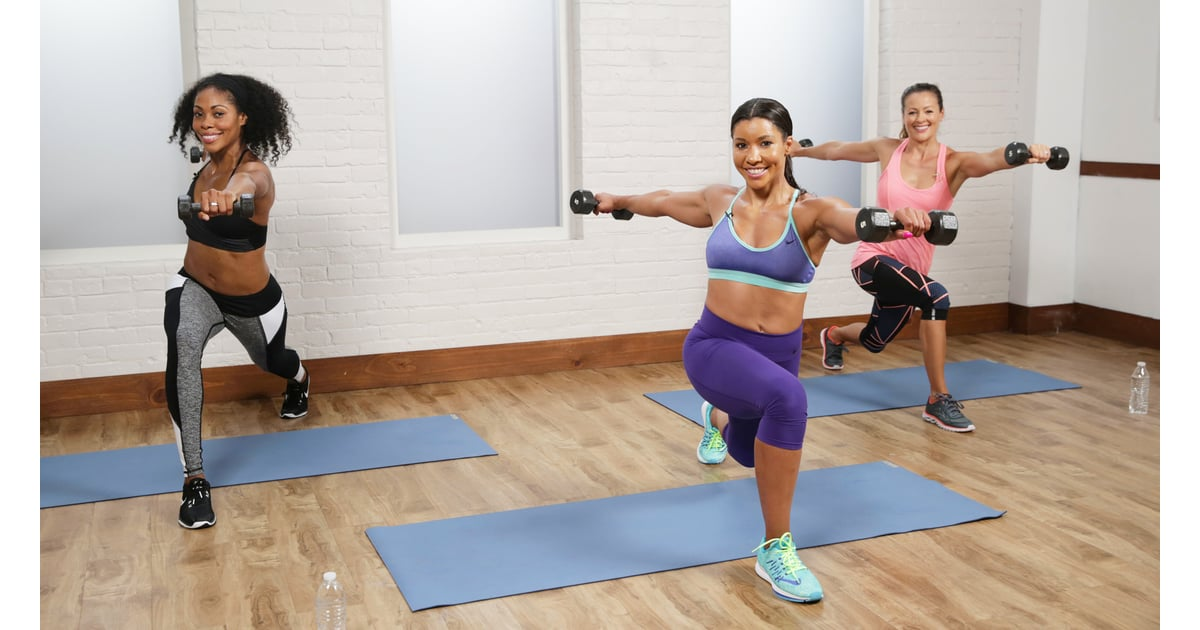 30-Minute Cardio Sculpt Workout | POPSUGAR Fitness