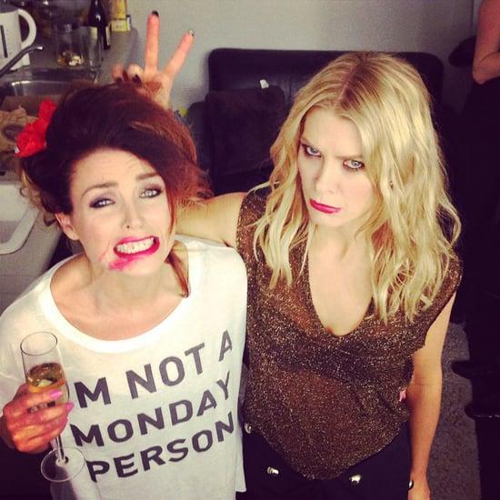 Celebrity Instagram Pictures Jennifer Hawkins, Margot Robbie