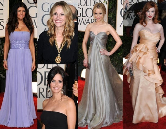 2010 Golden Globes Red Carpet Fashion, Beauty, Press Room, and Winners 2010-01-17 23:55:25