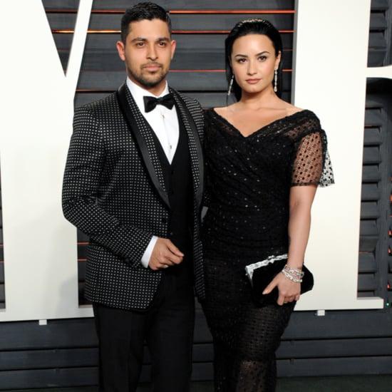 Demi Lovato Dress at Oscars Vanity Fair Party 2016