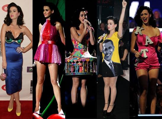 Katy Perry's MTV Europe Music Award Looks