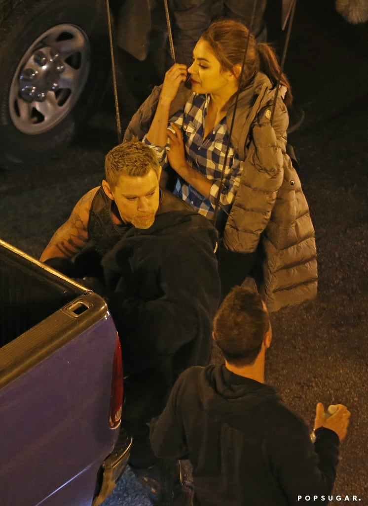 Channing Tatum and Mila Kunis Fly Into Action