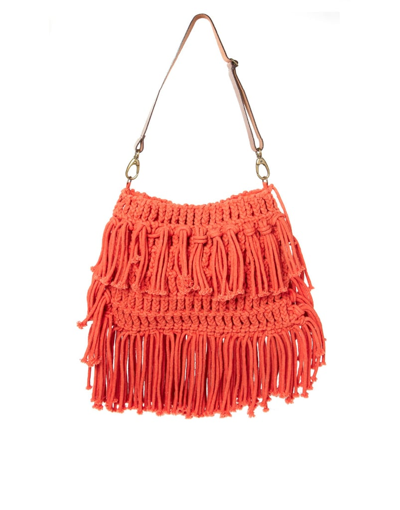 ASOS Leather Strap Bright Crochet Bag ($63)