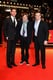 John Krasinski, Matt Damon, and Gus Van Sant posed on the red carpet at the premiere of Promised Land at the Berlin Film Festival on Friday.