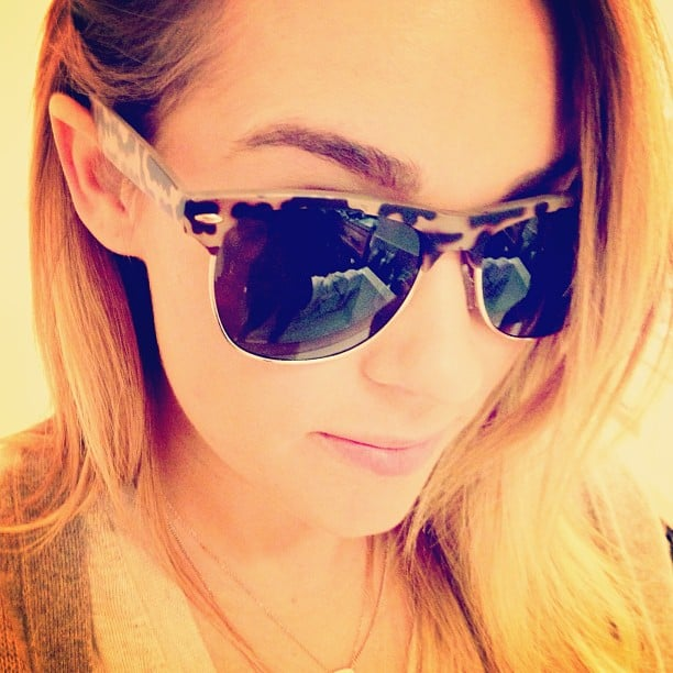 Cool sunnies, Lauren! Source: Instagram user laurenconrad