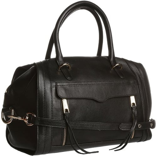 Rebecca Minkoff - Darcy Satchel (Black) - Bags and Luggage