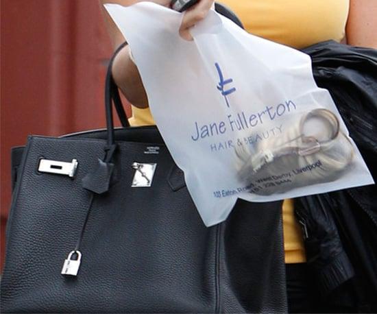 hermas bag  - Guess Who is Carrying a Black Hermes Birkin Bag | POPSUGAR Fashion UK