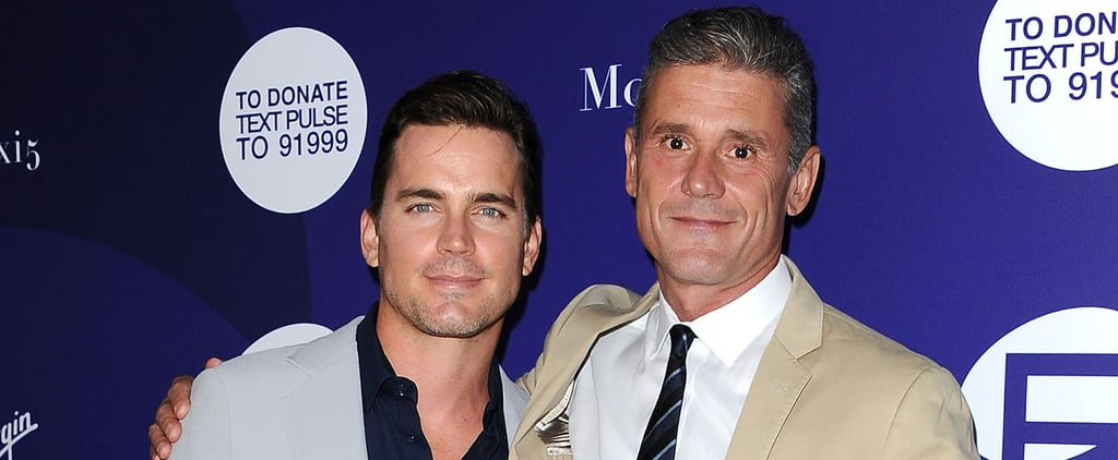 Matt Bomer and Simon Halls Leave Their Kids at Home For a Sweet Night Out