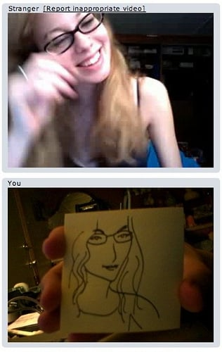 What Is Chatroulette? 2010-02-11 12:15:34