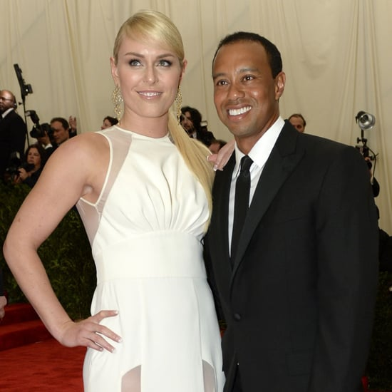 Tiger Woods and Lindsey Vonn at the Met Gala 2013