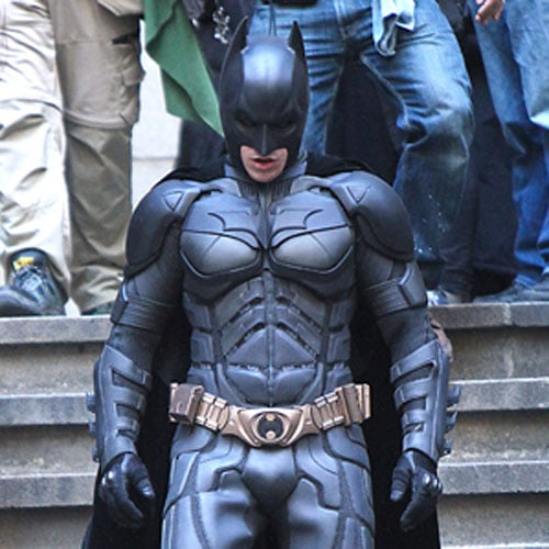 Tom Hardy on The Dark Knight Rises Set Pictures