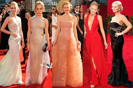 Photos of Drew Barrymore, Chloë Sevigny, January Jones, Blake Lively And Amy Poehler on The 2009 Emmy Red Carpet 2009-09-20 23:54:04