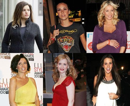 Photos of Pregnant Celebrities Carly Zucker, Jessica Taylor, Anne-Marie Duff, Danielle Lloyd, Denise Van Outen, Dannii Minogue