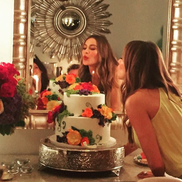 Sofia Vergara Birthday Cake