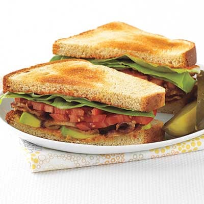 Fast & Easy Dinner: BLTs with Avocado and Spicy Mayo