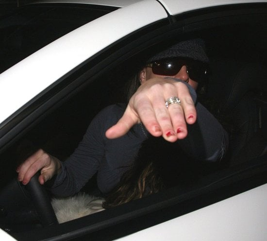 Britney Spears and Her New Ring out in LA on Friday