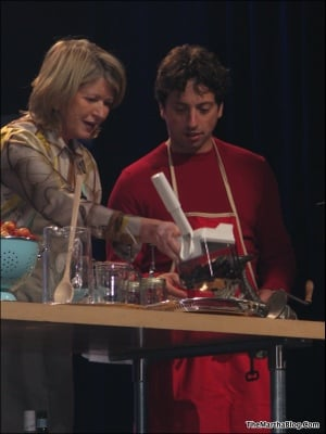 Martha Stewart Attends the Google National Sales Conference and Teaches Larry Page and