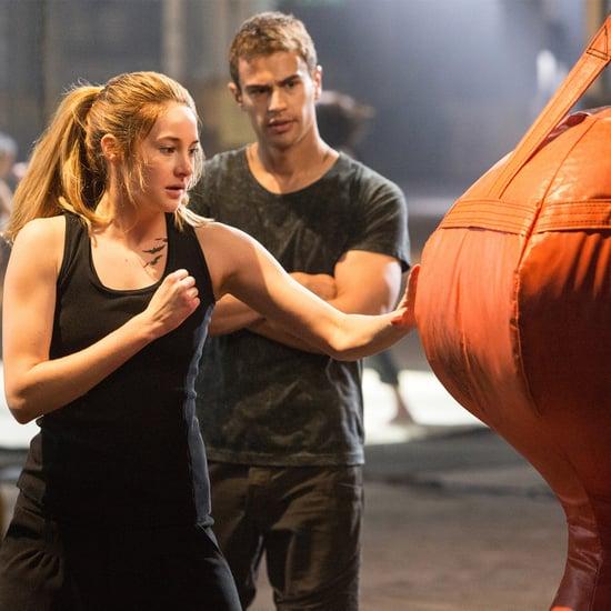 Shailene Woodley Talks About Divergent on POPSUGAR Live!
