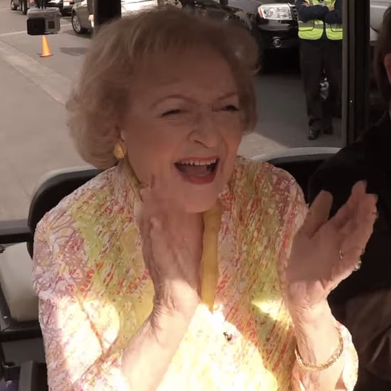 Flash Mob Performs For Betty White's 93rd Birthday | Video