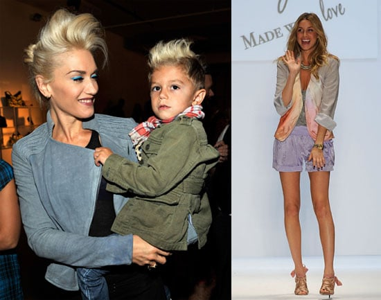 Photos of Gwen Stefani, Kingston Rossdale, Whitney Port at New York Fashion Week