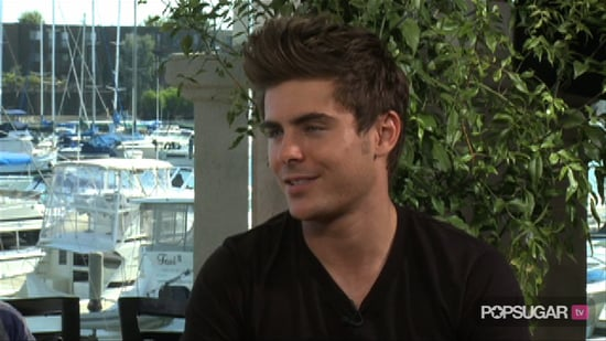 Video of Zac Efron Interview For Charlie St. Cloud