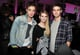 Ed Westwick and Chace Crawford hung out with Emma Roberts at a NYC party thrown by T-Mobile in October 2011.