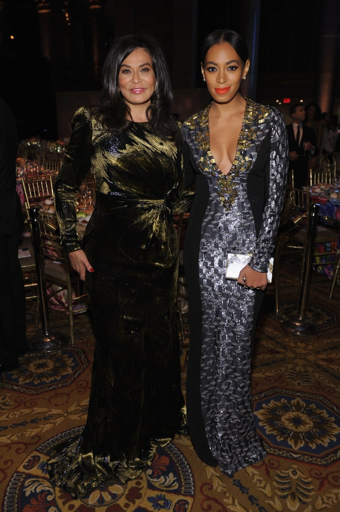 Solange and Tina Knowles stepped out to attend the Angel Ball in New York City.