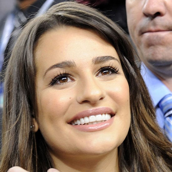 How to Get Makeup Like Glee Actress Lea Michele at the 2011 Super Bowl