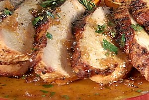 Sunday Dinner: Spice Rubbed Turkey Breast With Orange Sauce