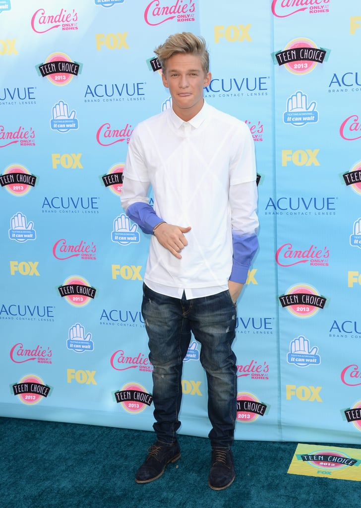 Cody Simpson attended the 2013 Teen Choice Awards.