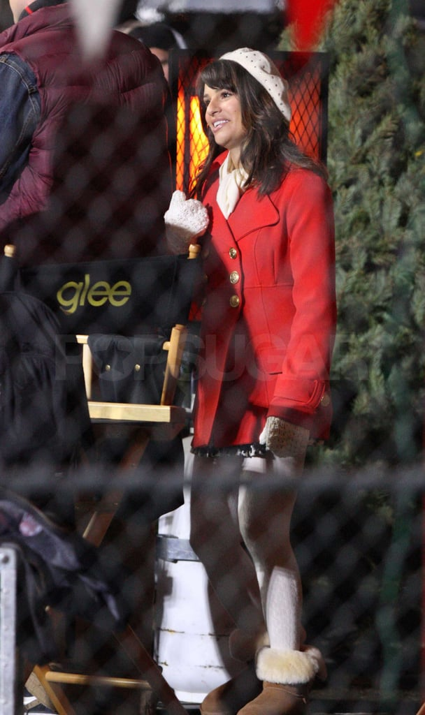 Pictures From Set of Glee