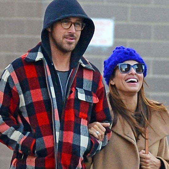 Ryan Gosling and Eva Mendes in NYC Over Thanksgiving Weekend
