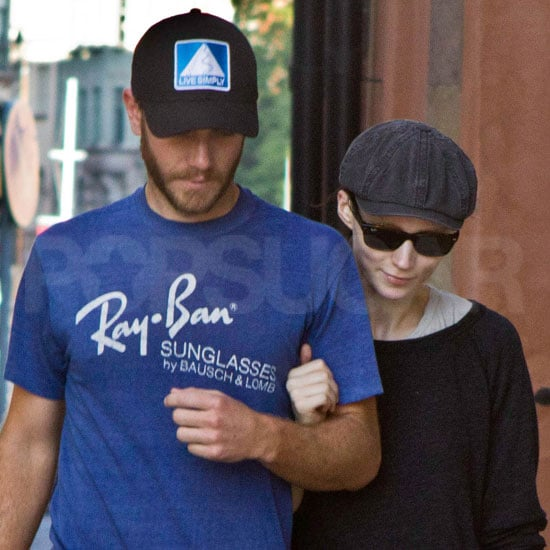 The Girl With the Dragon Tattoo's Rooney Mara Pictures With Charlie McDowell