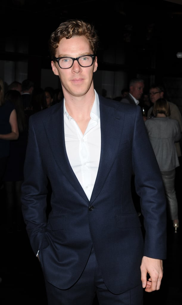 On Tuesday, Benedict Cumberbatch attended the opening of City Social restaurant in London.