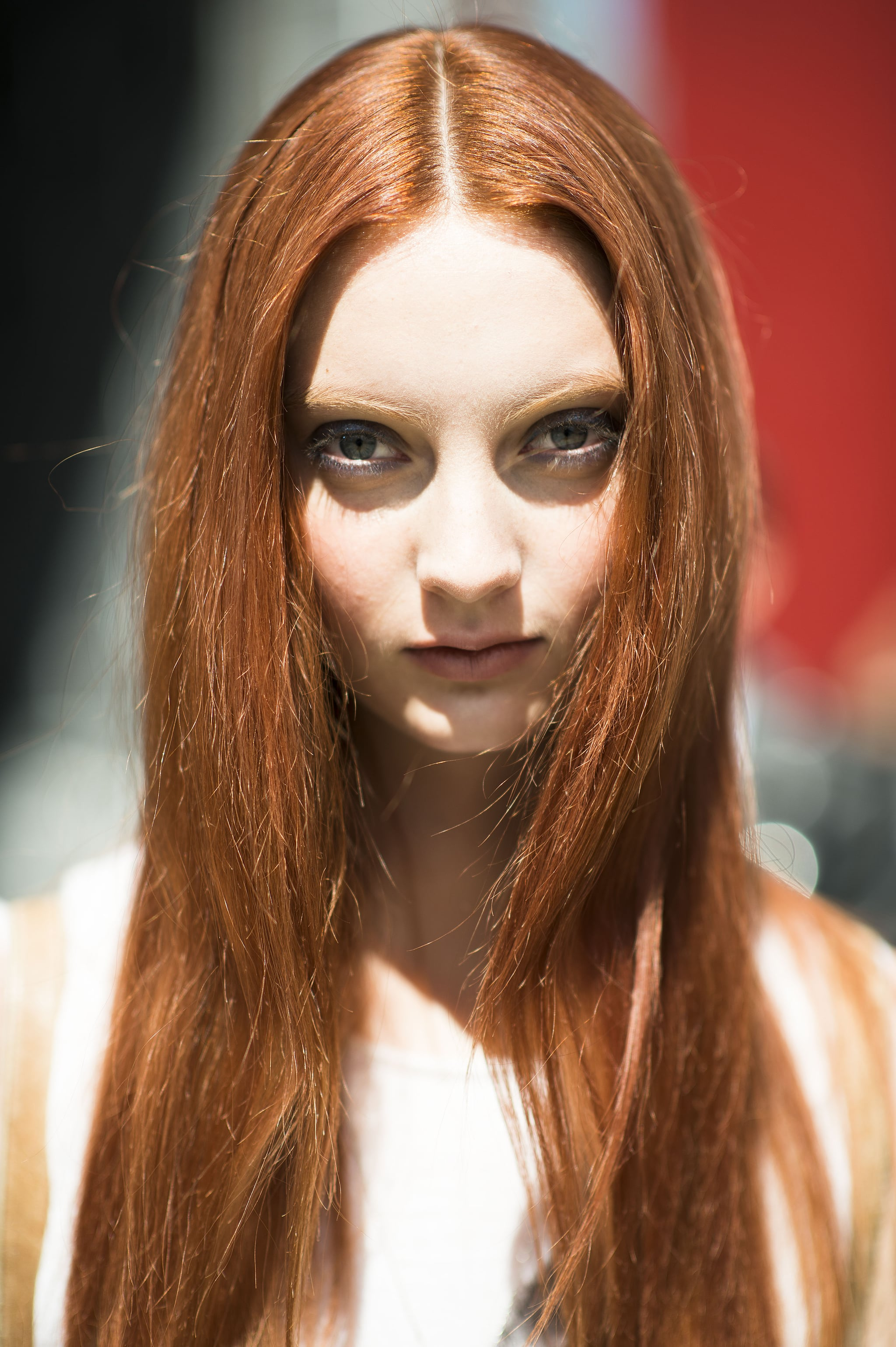 Let this gorgeous red hair be your color inspiration for Fall.  Source: Le 21ème   Adam Katz Sinding