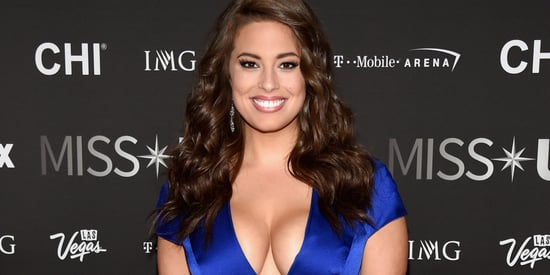 Ashley Graham Rules Miss USA With A Plunging Gown And A Message