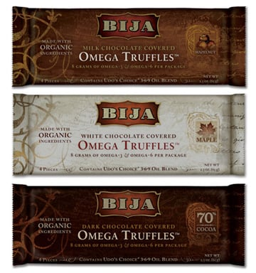 Omega Chocolate Truffles