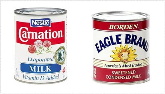 Burning Question: What's the Difference Between Evaporated and Condensed Milk?