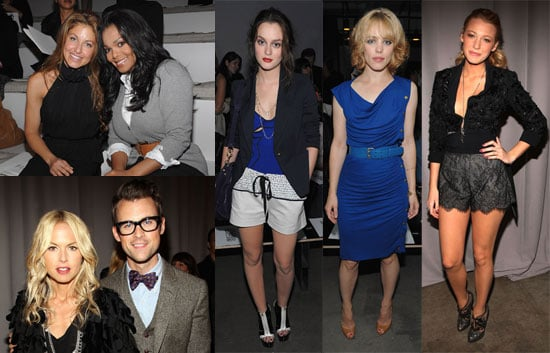 Photos of Rachel McAdams, Anna Wintour, Emmy Rossum, Rachel Zoe, Emmanuelle Chriqui, And Blake Lively at NY Fashion Week