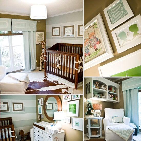 Baby Rhett's Sophisticated Custom Nursery