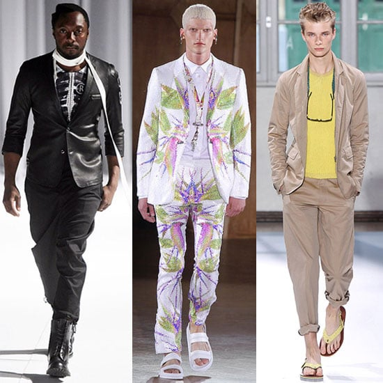Pictures of Paris Fashion Week Menswear 2012 Collections including John Galliano, Givenchy, Carven, Lanvin and Rick Owens